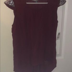 Blouse from Charlotte Russe size M tags attached